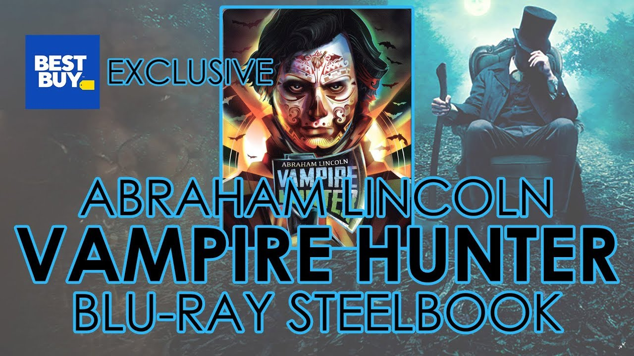 Download Abraham Lincoln: Vampire Hunter (2012) Blu-ray Steelbook Unboxing   Best Buy Exclusive (4K Video)