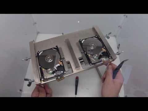 Toshiba MK6476GSX Head Swap - Affordable Clean Room Data Recovery by $300 Data Recovery