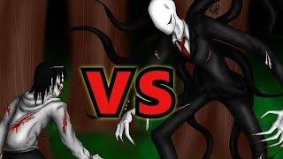 Джефф убийца против Слендермена часть 1