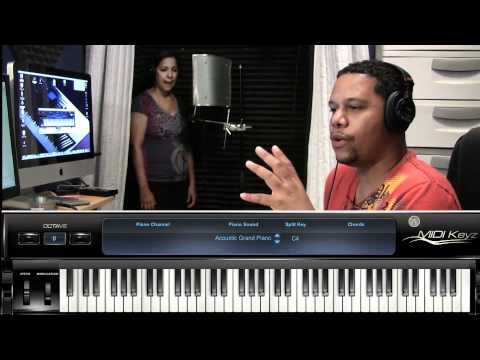 Late Night Worship Session and Lessons with Wifey :: More Than Anything Lamar Campbell