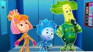 #Фиксики - #Новые серии #Мультики для детей - #Лифт Познавательные мультики| Новые мультфильмы 2017