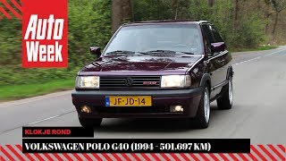 Volkswagen Polo G40 – 1994 – 501.697 km - Klokje Rond - English subtitles