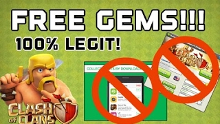 Clash of Clans - HOW TO GET FREE GEMS! (Without Fake Gem Generators or Cash For Apps) 100% Working