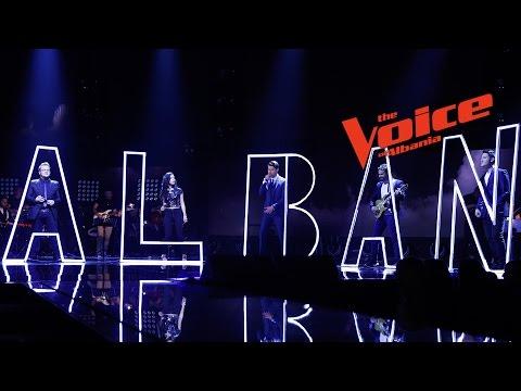 Kënga e Skuadrës Alban - Netët Live - The Voice of Albania 6
