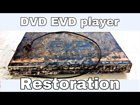 Restoration reuse old DVD player - EVD player restoration &