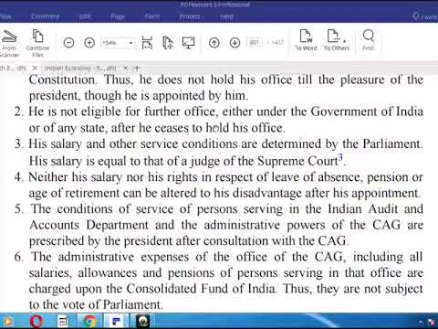 indian polity revision laxmikant-ch- COMPTROLLER AND AUDITOR GENERAL OF INDIA