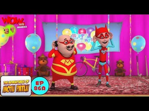 Kegembiraaan Ulang Tahun - Motu Patlu dalam Bahasa - Animasi 3D Kartun