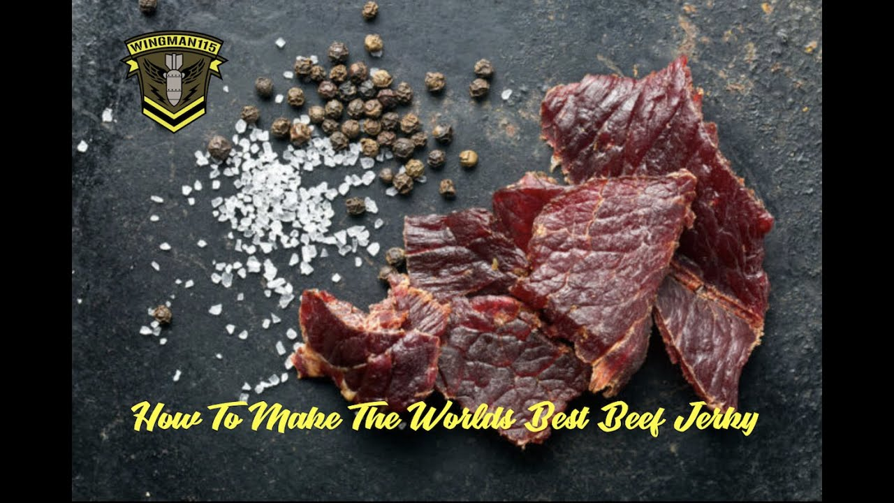 how to make beef jerky youtube