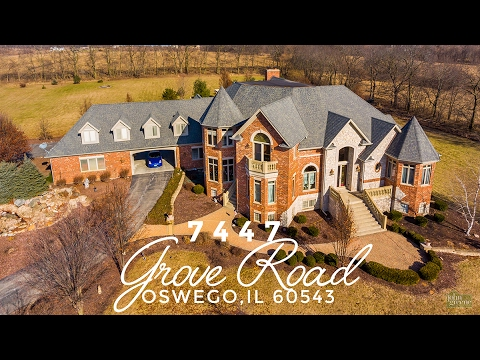 Welcome to 7447 Grove Rd, Oswego, IL 60543 | Aerial 4K Tour