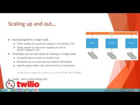 Lunch & Learn - Real Time Web Messaging with SignalR - YouTube