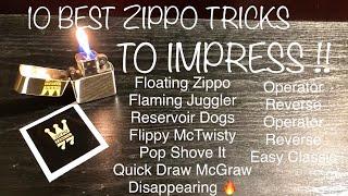 Download lagu 10 Best Zippo Tricks To IMPRESS Anyone !