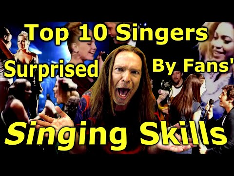 Vocal Coach Reacts To Top 10 Singers Surprised By Fans Singing Skills   Ken Tamplin