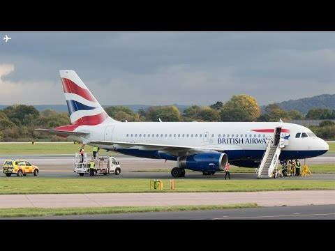 Landing Gear Incident on British Airways A319 Causes Manchester Airport Runway to Close