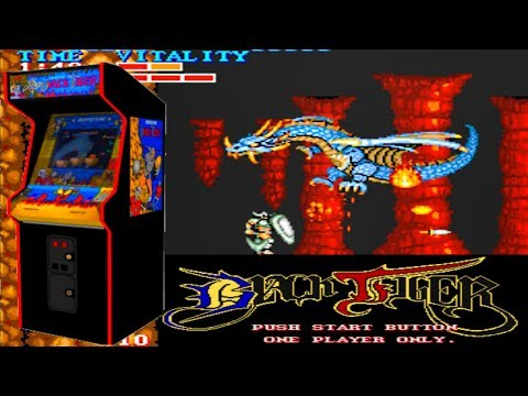 Black Tiger - Classic Arcade Adventure-Platformer (Capcom 1987)