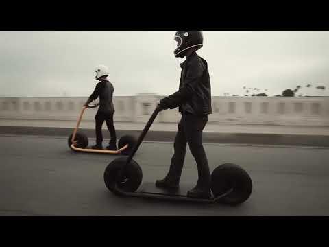 Stator Ride 5 - складной электросамокат с толстыми колесами и трубчатой рамой
