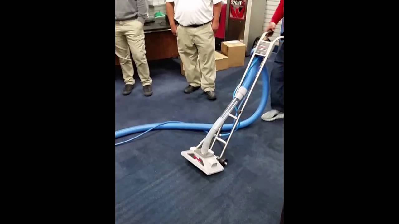 The Rotovac Bonzer High Speed Carpet Cleaning Tool In