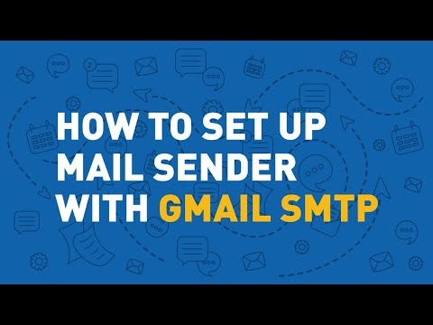 Atomic Mail Sender Setup tutorial. Quick SMTP setup.