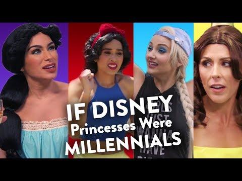 If Disney Princesses Were Millennials