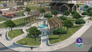 Началась реконструкция центральной площади села Визирка