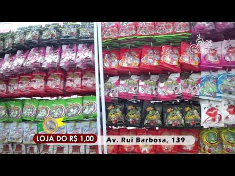 Inauguração - Loja do R$ 1,00 - Agosto/ 2015 - TVCOM Canal 22 - Assis/SP