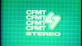 CFMT Toronto Channel 47 Cable 4 ID 1986