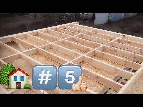 видео: День 5. Третья стена. Строим каркасный дом/day 5. the third wall. build frame house