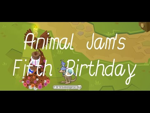 Happy Animal Jams Fifth Birthday & Cake Code - YouTube