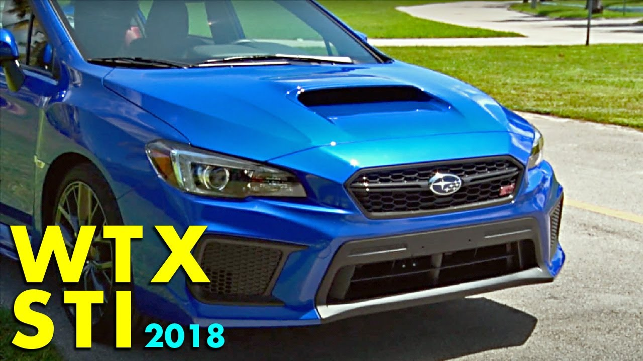 Subaru Wrx Sti 2018 Version En Espanol Youtube