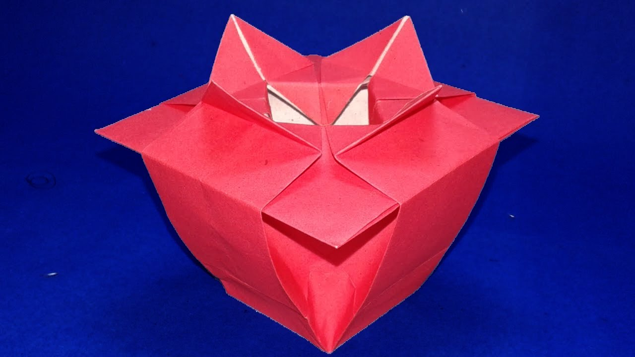 Origami Vase How To Make Paper Flower Instructions Step By