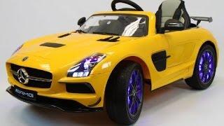 Мой первый Mercedes - Катаемся на большой машине - Детский электромобиль Mercedes(Ева и Лео катаются на большой машине. Лео, как истинный джентельмен, уступил Еве свой автомобиль. Детский..., 2016-03-14T22:15:00.000Z)
