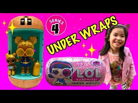 LOL Surprise UNDER WRAPS Unboxing | Meet Soul Babe - The Golden Girl | SERIES 4 Big Sisters Opening