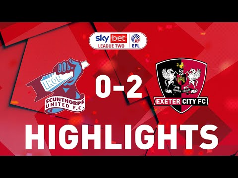 Scunthorpe Exeter City Goals And Highlights