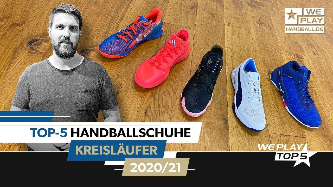 Top-5 Handballschuhe Kreisläufer 2020