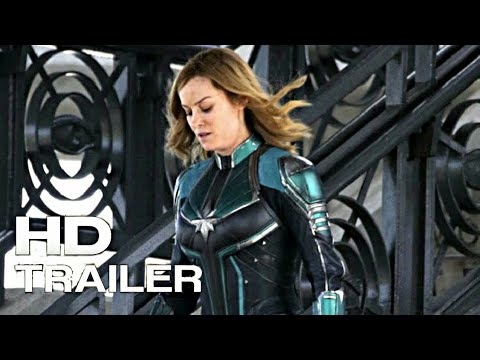 captian marvel first teaser trailer 1 hd 2019 brie larson movie youtube. Black Bedroom Furniture Sets. Home Design Ideas