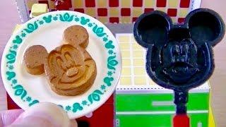 Re-ment Disney Mickey Mouse Retro Kitchen Pancake Frying Pan Butter Honey リーメント ディズニー レトロキッチン