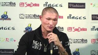Kenmun's Post-Fight Interview - K-1 MAX 2011
