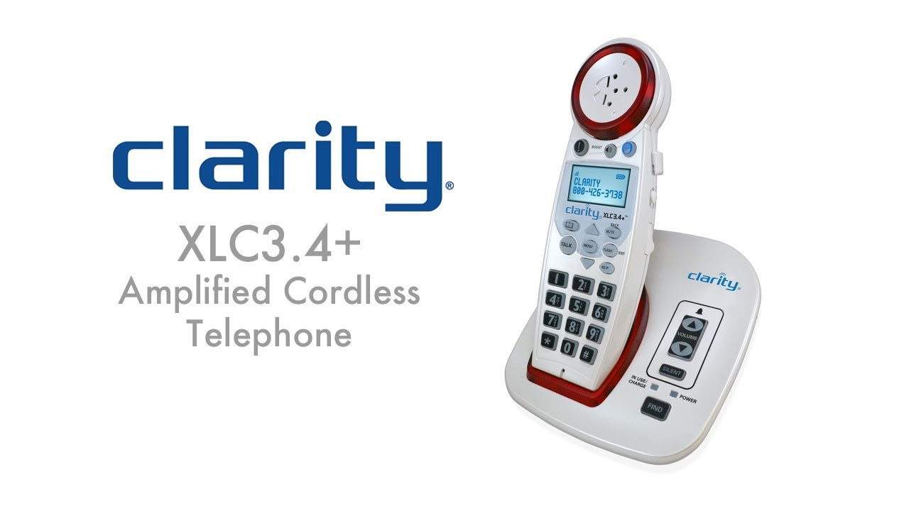Clarity XLC34 with captions YouTube