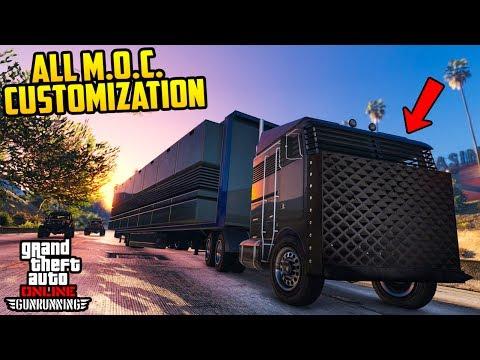 GTA Online: GunRunning DLC - NEW MOBILE OPERATION CENTER GAMEPLAY! (All Customization & Prices)