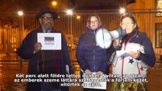 TÜNTETÉS A RENDŐRI BRUTALITÁS ELLEN Thumbnail