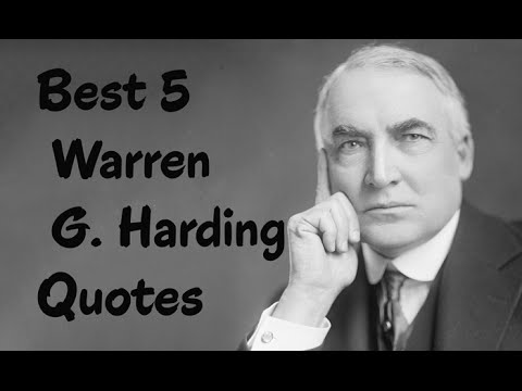 warren g harding president essay Controversial presidency was harding's term truly a failure by peter chia february 25, 1924 as the term of president warren g harding finally came to a close, his presidency has begun to undergo heavy scrutiny.