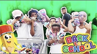 TOOK THE KID'S BACK TO SCHOOL SHOPPING!  A FAN CRY'S (EMOTIONAL)