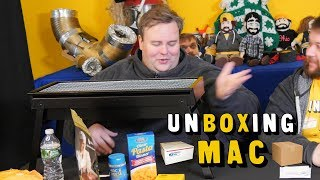 UnBoxing Mac 24: No Name, Italpasta, Sodium Citrate, and Cheap Grill