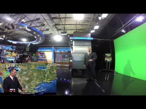 Studio view of my weather forecast