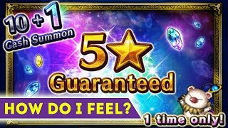 [FFBE] Final Fantasy Brave Exvius - My Opinion On The New 5* Summon