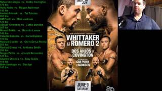 UFC 225 Fight Companion on Mike Reviews it all today!
