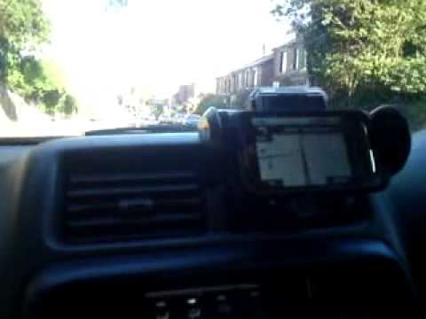 Review 2 of ZTE Racer phone using the Google sat nav