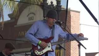 OZMA performs 'Battle Scars' right into 'Rocks' at the 2012 Pasadena 'Make Music Festival' Colorado Blvd.