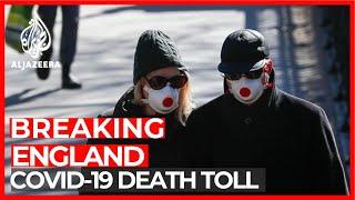 COVID-19: 828 people die in England in past 24 hours