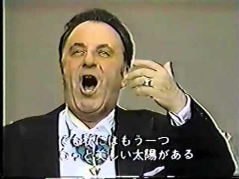Carlo Bergonzi - 'O sole mio (Tokyo, 1987)