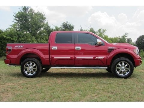 2012 FORD F-150 SUPERCREW FTX 4X4 FX4 BY TUSCANY CONVERSIONS 888-439-8045 FORD OF MURFREESBORO ...